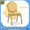 Цена по прейскуранту завода-изготовителя высокого качества штабелируя золотистый самомоднейший алюминиевый стул банкета (XYM-L184)