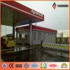 Gasolinera de Ideabond Feve que cubre el panel compuesto de aluminio incombustible (AF-370)