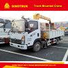 Camion de faible puissance tout neuf de grue de 8 tonnes de la Chine Cdw