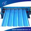Telhadura galvanizada cor do Galvalume do azul de oceano