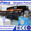 Máquina de perfuração hidráulica da torreta do CNC para as peças de metal da folha