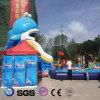 Раздувной бассеин PVC шаржа дельфина для напольного Waterplay LG8100