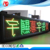 P10 Scrolling Text LED Board Display LED ao ar livre