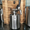 재사용할 수 있는 캡슐 8g를 가진 찬 압박 커피 분배기 스레드 N2o 가스통 없음