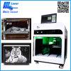 Hsgp-4kbレーザー機械3Dレーザーによって刻まれる水晶立方体機械
