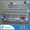 Do recipiente dobrável do rolo do engranzamento de fio do armazenamento tipo de levantamento