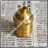 De fijne Lamp Holder/Socket/Cape van het Koper met Setscrew (szt-006)