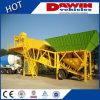 usines de traitement en lots concrètes mobiles de remorque de la qualité 40m3/Hour chaudes dans la vente
