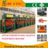 Machine de effectuer de brique de pavage hydraulique automatique (QT5-20)