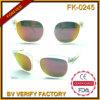 Óculos de sol Tr90 transparentes personalizados unisex do estilo Tr032 masculino clássico