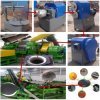 Gummireifen-Ausschnitt-Maschinerie, überschüssiger Reifen, der Gerät zerreißt