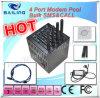 4 Port GSM GPRS Modem Pool для SMS, MMS, Ussd, Stk