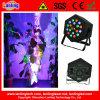 18W RGB Innendisco-funkelndes Laser-und LED-NENNWERT Effekt-Licht