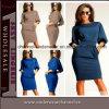 2015 plus nouvelles femmes MIDI habille les robes d'usager de Madame Fashion (TONY8049)