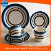 環境に優しい機能陶磁器の食事用食器セット、使用されたレストランの石器の食事用食器セット