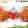 A esponja interna macia de escalada do PVC do campo de jogos da canaleta dos jogos caçoa a rede engraçada dos brinquedos