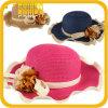 Sombreros de Sun del ocio del sombrero de paja del verano de la manera (SH027SSJ)