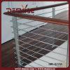 현관 나무로 되는 손잡이지주 강철 방책 (DMS-B2205)