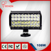 10 pollici 108W LED Light Bar per Jeep SUV ATV