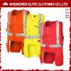 Het hoge Sleeveless Vest Workwear van het Zicht in plus Grootte (elthvvi-13)