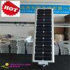 Energia renovável verde, luz de rua solar de 100%, luz do sensor solar