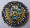 Moneta personalizzata della polizia