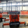 el 14m Electric Scissor Lift con 500kg Kdsjy0.5--14