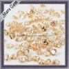 Cut Corazón en Champagne CZ piedra de piedras preciosas perlas sueltas