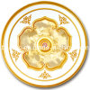 Het luxueuze Ontwerp van het Plafond van de Engel voor BinnenDecoratie (brd15-s-023)