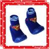 Nuevos calcetines del zapato de bebé del diseño con la planta del pie de goma suave (JC--BX-81)