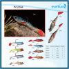 Palan de pêche mou d'attrait de fil artificiel de 6cm-20cm
