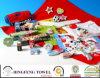Katoen van 100% perste Afgedrukte Badhanddoek samen