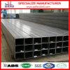 Tubo de acero rectangular de ASTM A53/A106