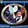 Medalla de encargo del recuerdo del deporte de la concesión con de calidad superior