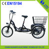 セリウムCertificateとの2015緑のEletric Tricycle