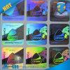2015 etiquetas engomadas inalterables/etiqueta engomada de encargo del holograma