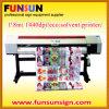 imprimante à jet d'encre de 1.8m Indoor avec Epson Dx5 Head, 1440dpi