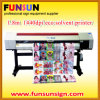 1.8m Indoor Inkjet Printer com Epson Dx5 Head, 1440dpi