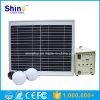 sistema eléctrico solar portable 10W para el hogar