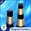 Manguera de goma hidráulica resistente del alambre de acero del petróleo de alta presión de la trenza
