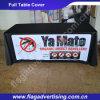 Pano de tabela relativo à promoção impresso do poliéster feito sob encomenda da cor cheia para anunciar