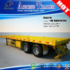 2/3의 축선 30ft Container Transporting Flat 갑판 Truck Trailer