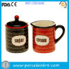 Sugar e Creamer personalizzati Ceramic Container
