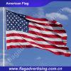 Le polyester fait sur commande en gros folâtre l'indicateur, indicateur de pays national du monde, indicateur américain des Etats-Unis