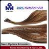 Estensione brasiliana dei capelli umani del Virgin
