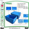 Caixa dobrável plástica resistente do armazenamento para o transporte
