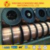 Alambre de soldadura de oro del cobre del CO2 del fabricante 1.2m m 15kg/Spool Sg2 Er70s-6 del puente para la soldadura
