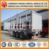 en bois 70ton/bois de construction de transport de transport remorque de camion de remorque semi