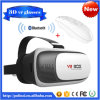 V2 3D Glasses Virtual Reality Google Cardboard 2.0 Bluetooth Controller Open Film