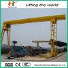 레일을 설치하는 10t Gantry Crane Gantry Goliath Crane